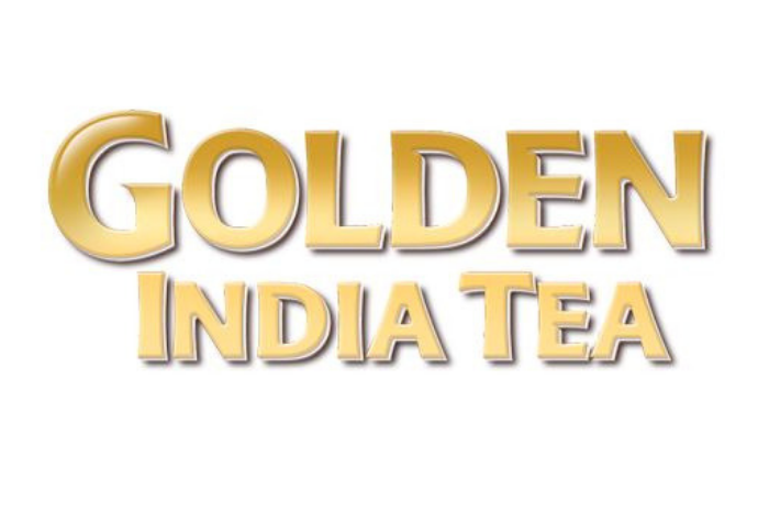Golden India tea logo